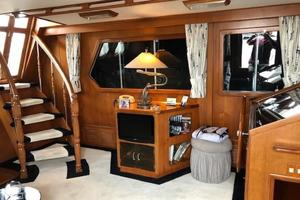 48' Spindrift 48 Aft Cabin My 1984 Port Side Salon