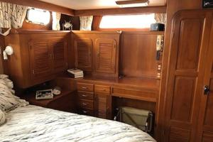 48' Spindrift 48 Aft Cabin MY 1984 Master Port Side