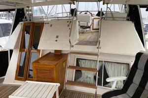 48' Spindrift 48 Aft Cabin My 1984 Bridge Cockpit Looking Forward