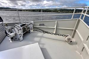 55' Custom  2007 Fore Deck Anchor Systems