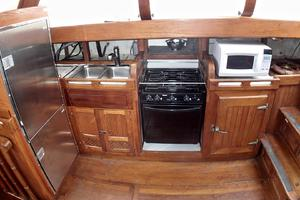 51' Formosa Ketch 1981 Galley