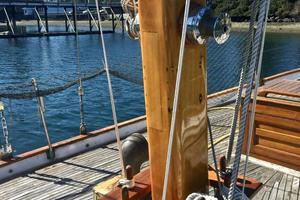 51' Formosa Ketch 1981 Mast Base