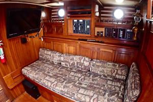 51' Formosa Ketch 1981 Starboard Side Media Room