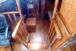 51' Formosa Ketch 1981 Media Room Stair's