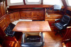 51' Formosa Ketch 1981 Salon/Navigation Station