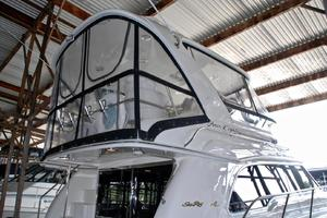 48' Sea Ray 480 Sedan Bridge 2000 EnclosedFlybridgeBridge