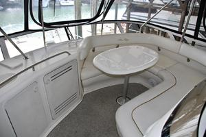 48' Sea Ray 480 Sedan Bridge 2000 FlybridgeSeatingForward