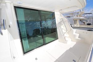 58' Meridian 580 Pilothouse 2003 Cockpit Looking Starboard