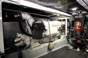 58' Meridian 580 Pilothouse 2003 Port Engine