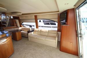 58' Meridian 580 Pilothouse 2003 Salon Looking Starboard