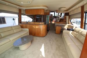 58' Meridian 580 Pilothouse 2003 Salon Looking Forward Overview