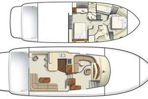 58' Meridian 580 Pilothouse 2003 Layout Drawings