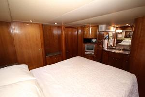 58' Meridian 580 Pilothouse 2003 Master Stateroom 3