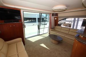 58' Meridian 580 Pilothouse 2003 Salon Aft Overview