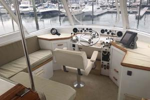 Gulfstar-Liveaboard-Motoryacht-1984-Galileo-Quincy-Massachusetts-United-States-Helm-Area-1015667