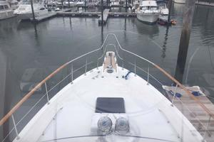 Gulfstar-Liveaboard-Motoryacht-1984-Galileo-Quincy-Massachusetts-United-States-Foredeck-view-from-Helm-1015663