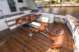 76' Palmer Johnson Sport Fisherman 1993 Custom Release Fighting Chair