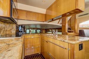 64' Hatteras 64 Motor Yacht 2006 Galley Overview