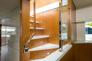 75' Hatteras M75 Panacera 2017 Internal Bridge Stairs (Optional)