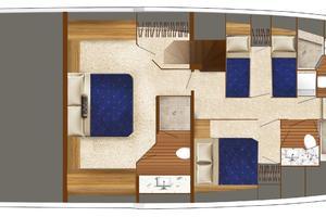 75' Hatteras M75 Panacera 2017 Vessel Floorplan