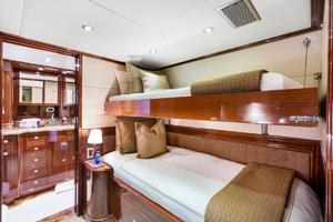 133' Custom Raised Pilothouse 2008 Guest Single w/ Pullman
