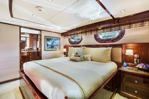 133' Custom Raised Pilothouse 2008 Guest King Cabin