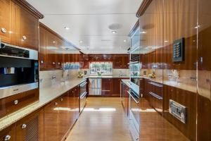 133' Custom Raised Pilothouse 2008 Galley