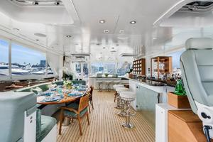 133' Custom Raised Pilothouse 2008 Air-conditioned Sundeck