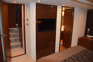 64' Princess Flybridge 2011 Master looking aft