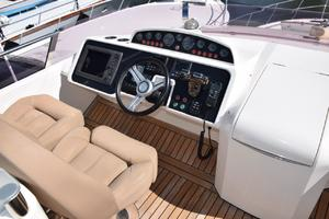 64' Princess Flybridge 2011 Flybridge Helm