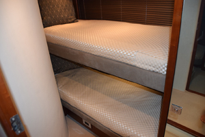 64' Princess Flybridge 2011 Port guest bunk stateroom