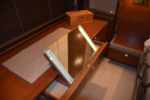 64' Princess Flybridge 2011 Vanity Mirror in Master