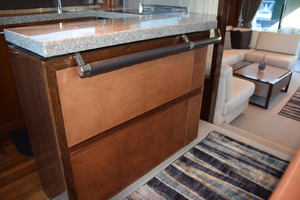 64' Princess Flybridge 2011 Galley