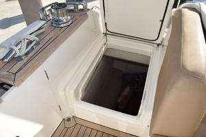 64' Princess Flybridge 2011 Entrance to Crew Quarters