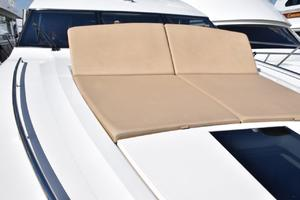 64' Princess Flybridge 2011 Sunpad with raised backrest