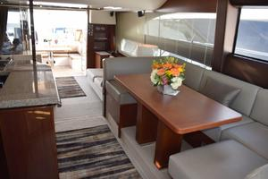 64' Princess Flybridge 2011 Dinette