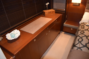 64' Princess Flybridge 2011 Dresser in Master