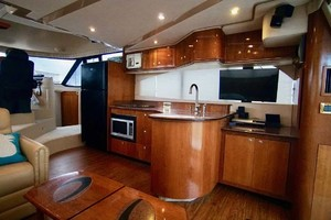 50' Cruisers Yachts 5000 Sport Sedan 1999 Galley