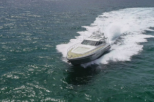 80' Mangusta  2007 Bow Running Profile