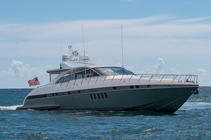 80' Mangusta  2007 Starboard Profile