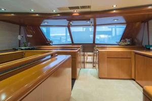 87' Feadship Yacht Fisherman 1985 Starboard Side Looking Forward