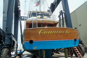 87' Feadship Yacht Fisherman 1985 8/30/18 Bottom Inspection
