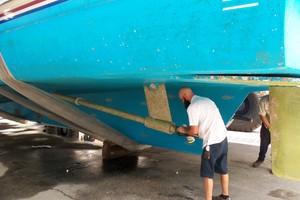 87' Feadship Yacht Fisherman 1985 8/30/18 Bottom Inspection
