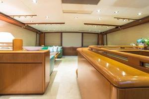 87' Feadship Yacht Fisherman 1985 Starboard Side Looking Aft