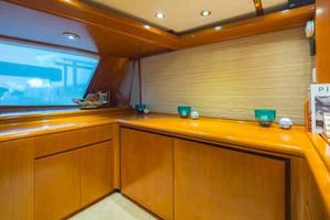 87' Feadship Yacht Fisherman 1985 Starboard Side Freezer Area
