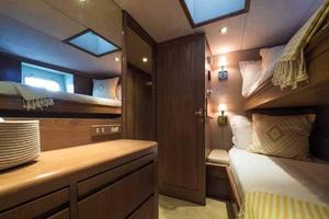 87' Feadship Yacht Fisherman 1985 Starboard Side Guest Cabin