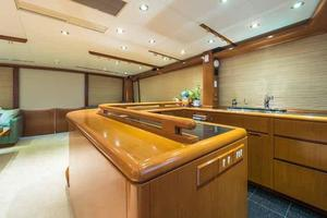 87' Feadship Yacht Fisherman 1985 Galley