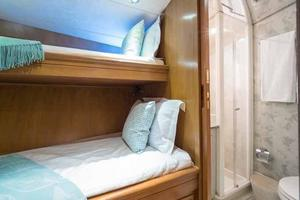 87' Feadship Yacht Fisherman 1985 Starboard Side Crew Cabin
