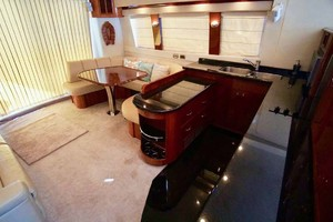 56' Carver 560 Voyager 2006 Galley