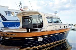 54' Apreamare Express Cruiser 2005 Starboard Aft Quarter